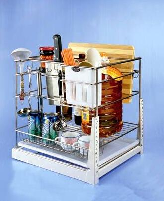 橱柜拉篮尺寸有哪些?该怎么安装?
