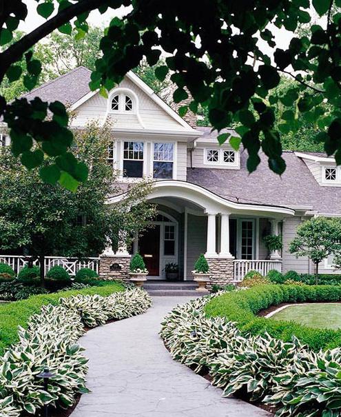 欧式别墅庭院设计案例