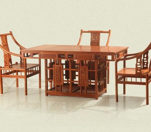 花梨木茶桌辨别方法技巧