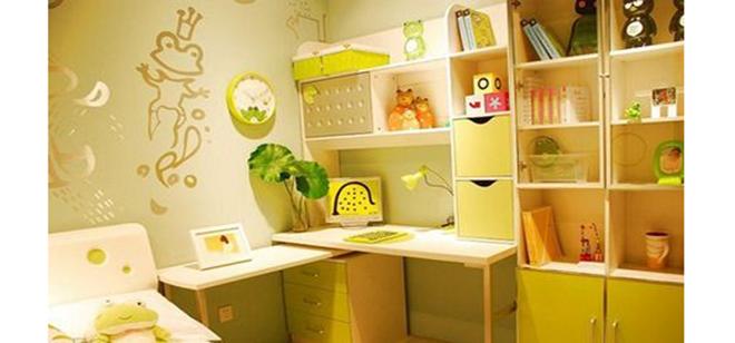 装修儿童房,书柜款式要选好