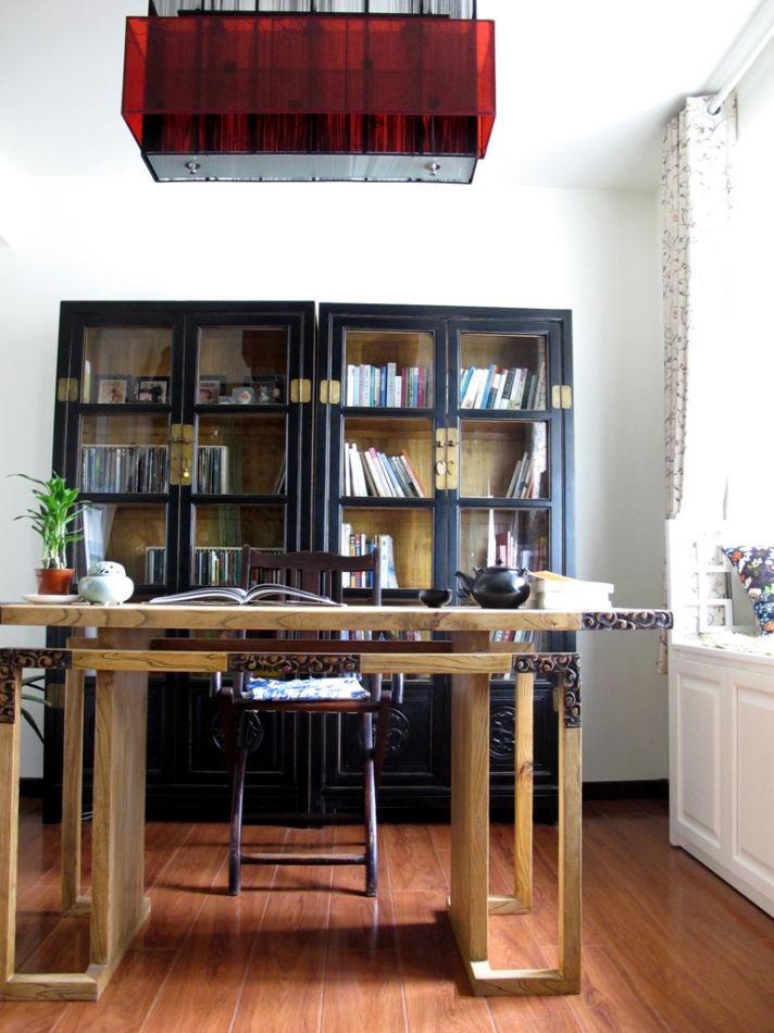 成熟人士必备的东南亚风格的书房装修