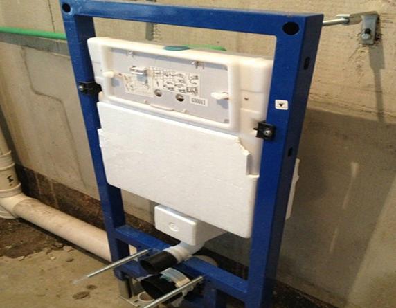 墙排式马桶 宜兴装修网告诉你怎么去安装!