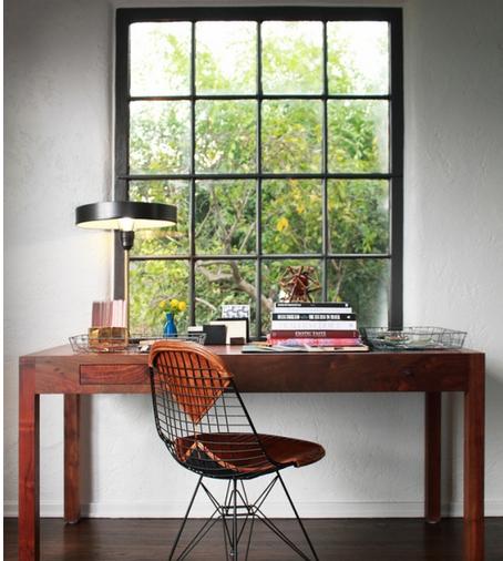 宁静优雅的书房如何装修,加点颜料色调试试?