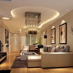 客厅异形吊顶造型