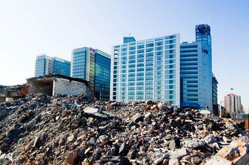 处理好建筑垃圾  减少环境污染