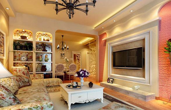 客厅装修样板房欣赏