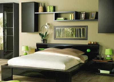 床头装饰该如何设计  营造一个不一样的卧室