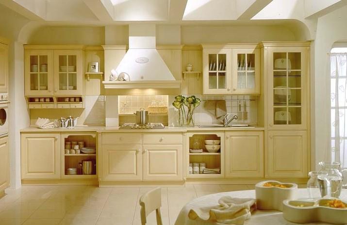 装修厨房时,瓷砖橱柜是个不错的选择