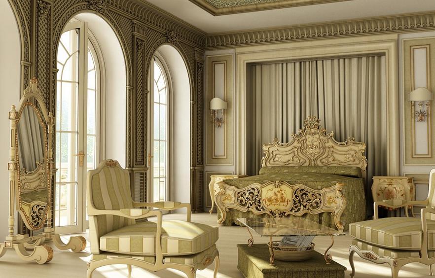 欧式风格的装修样板房