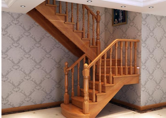 实木楼梯  让你的家既温馨又浪漫