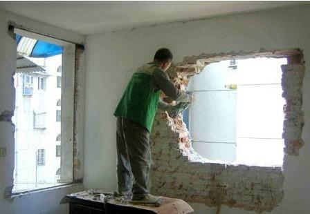 拆改非承重墙需要注意的事项   不要错过哦