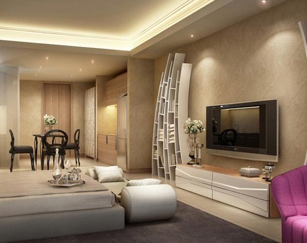 卧室装修 壁挂电视机高度如何确定