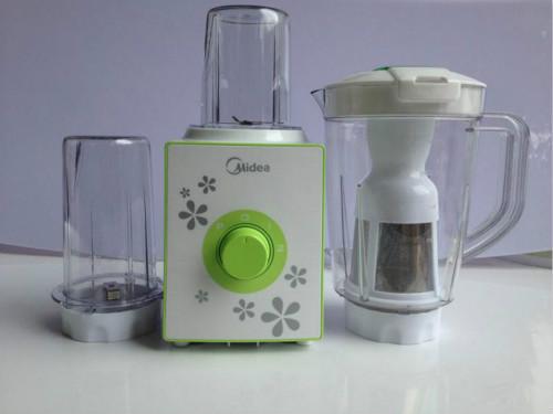 美的搅拌机使用方法和注意事项