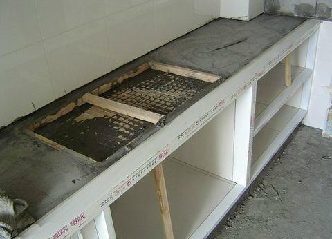 厨房灶台如何施工