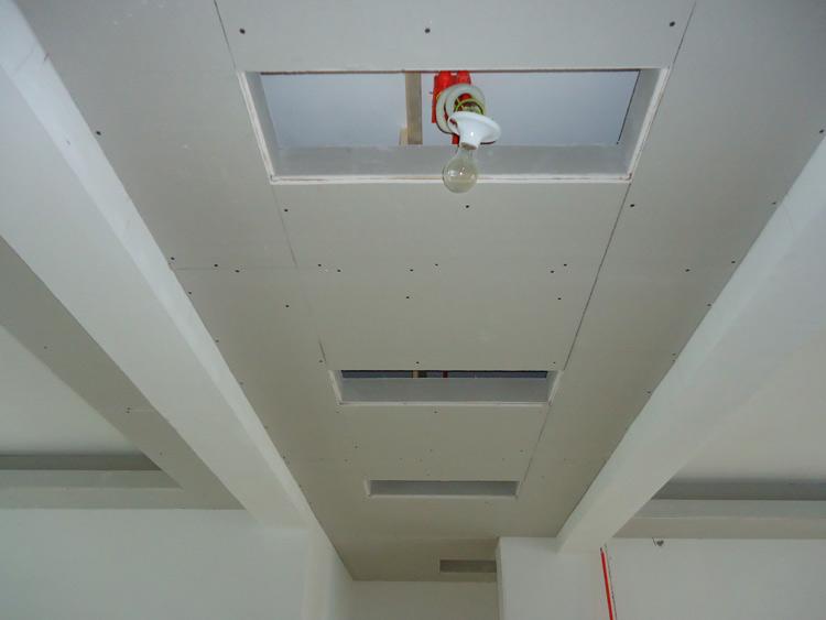 如何安全安装石膏板吊顶