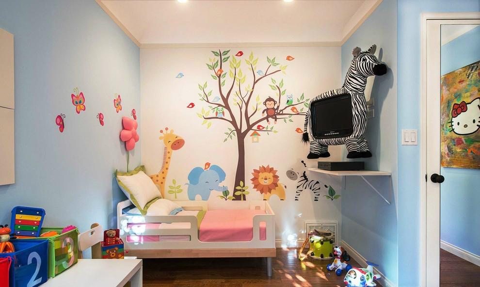 油漆or壁纸   哪种是儿童房墙面装修的材料