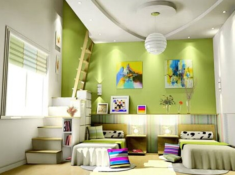 儿童房装修 颜色选择我们要注意什么