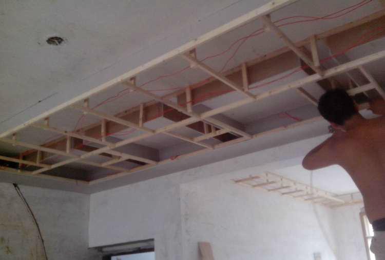 木龙骨吊顶是如何施工的