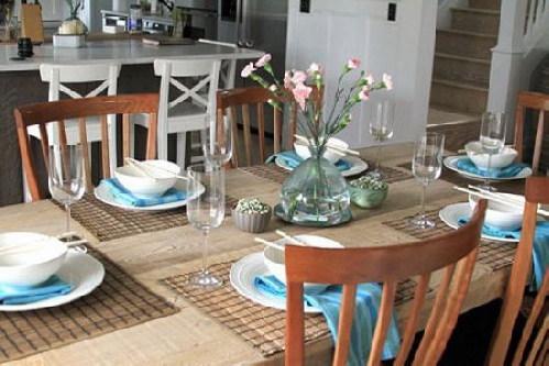 餐厅风水之餐桌摆放布局