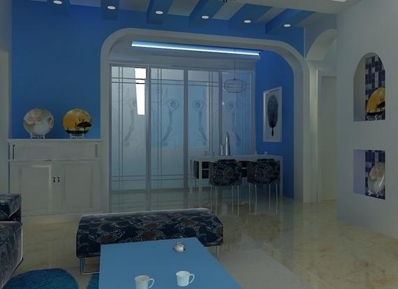 享受唯美大海风情的地中海风格家装设计!
