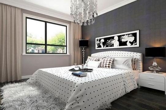 打造时尚的黑白现代简约风格家装!