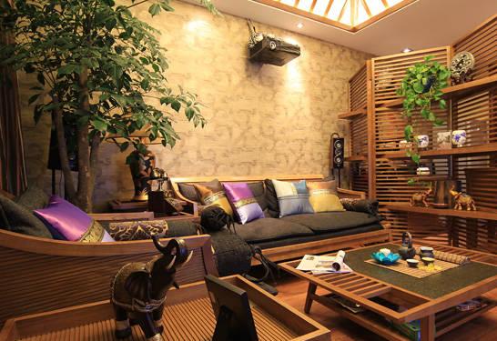 东南亚风格的居室,充满自然气息!