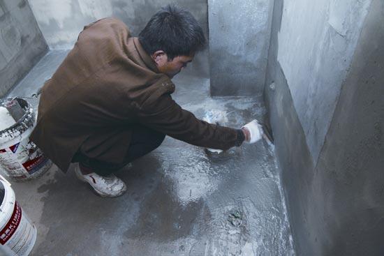 纳米净味防水涂料是如何施工的?