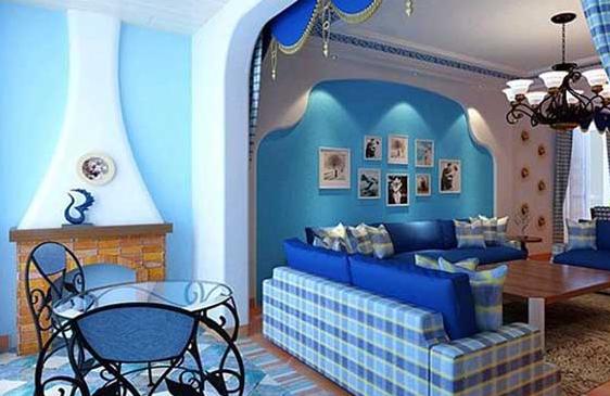地中海风格家装,唯美浪漫之家!