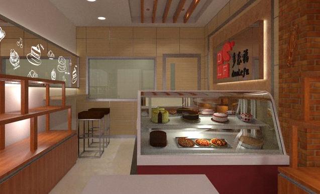 郑州糕点店装修设计要素有哪些?