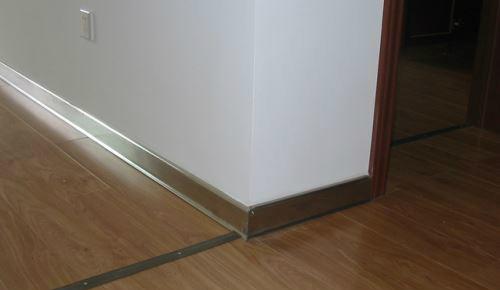 不锈钢踢脚线施工方法及验收标准