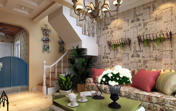 美式风格壁炉背景墙,一墙多用!