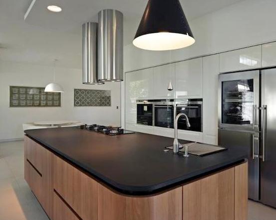 现代简约风格装修,实用美观现代厨房!
