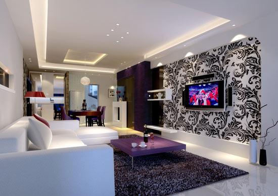 设计冰箱在客厅效果图