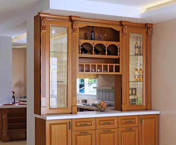一,中式风格酒柜设计分享