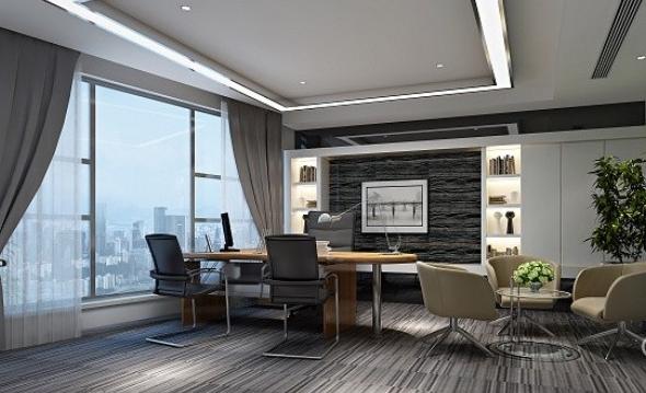 广州新欧式办公室装修风格