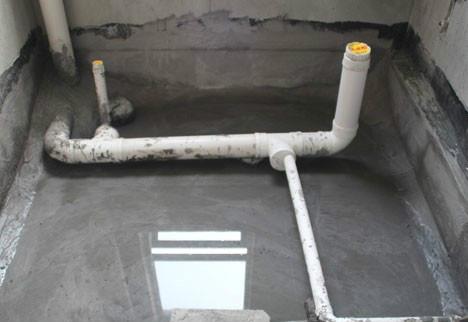 卫生间排水管如何安装?