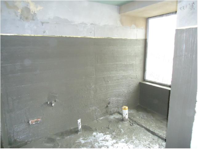 硅藻泥施工旧墙墙面处理