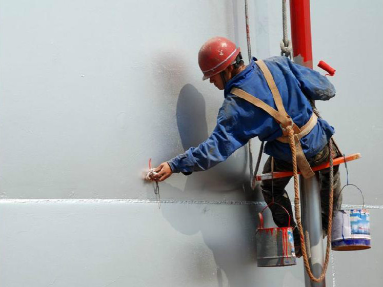 墙体防水材料施工
