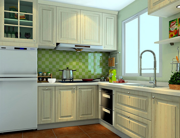欧式风格厨房x8