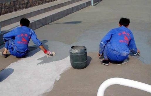 地面抹水泥砂浆防水层