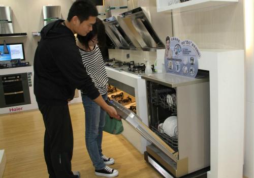 家用洗碗机装饰效果图