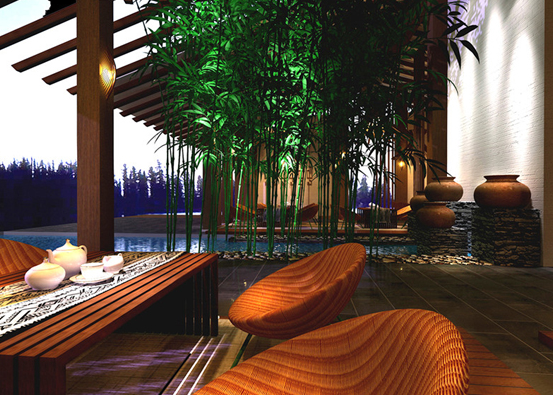 东南亚风格装修,热带雨林的特色!