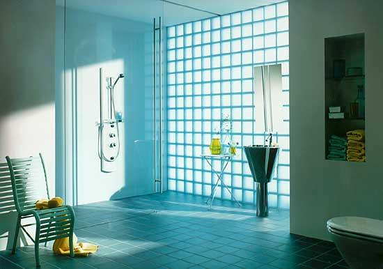 卫浴装修用玻璃砖