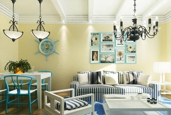 单身狗最爱的地中海风格公寓