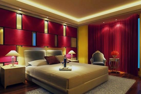卧室灯具风水灯具的位置安装