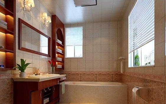 中式风格卫生间装修