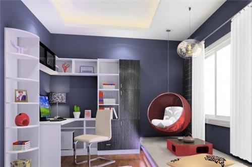 简约书房设计 简单大气