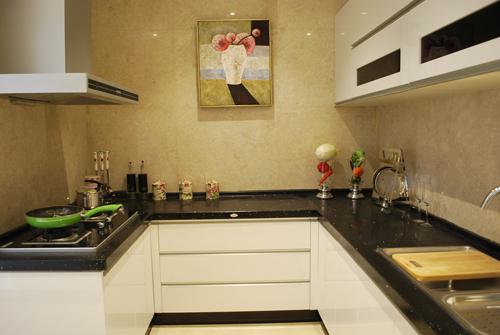 厨房样板房是实用性的原则