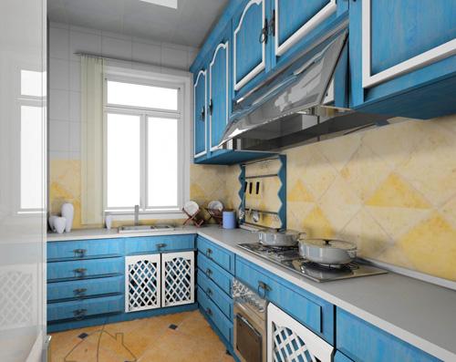 英式厨房适合家庭装修