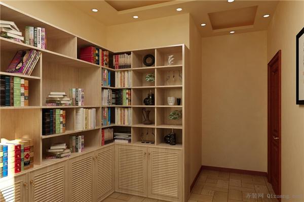 书房设计-给你一个安静整洁的书房